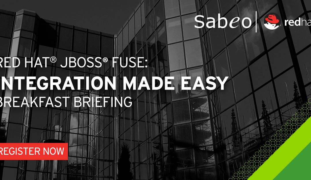 Integrating The Extended Enterprise with Red Hat JBoss Fuse Breakfast Briefing