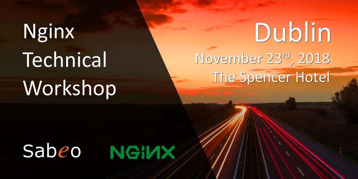 NGINX Technical Workshop | Sabeo - The multi-award winning IT