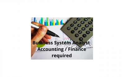 Featured Role – Business System Analyst (Accounting/Finance)