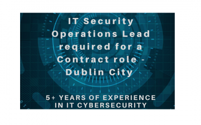 Featured Role – IT Security Operation Lead