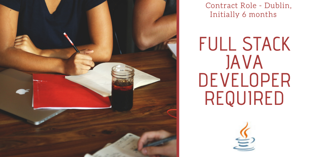 Featured Role – Full Stack Java Developer