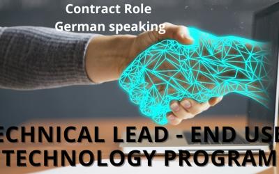 End User Technology Lead (German speaker)
