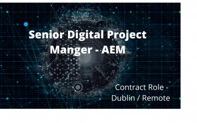 Senior Digital Project Manager – AEM