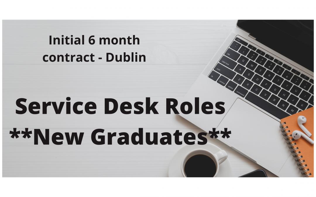 Service Desk Roles