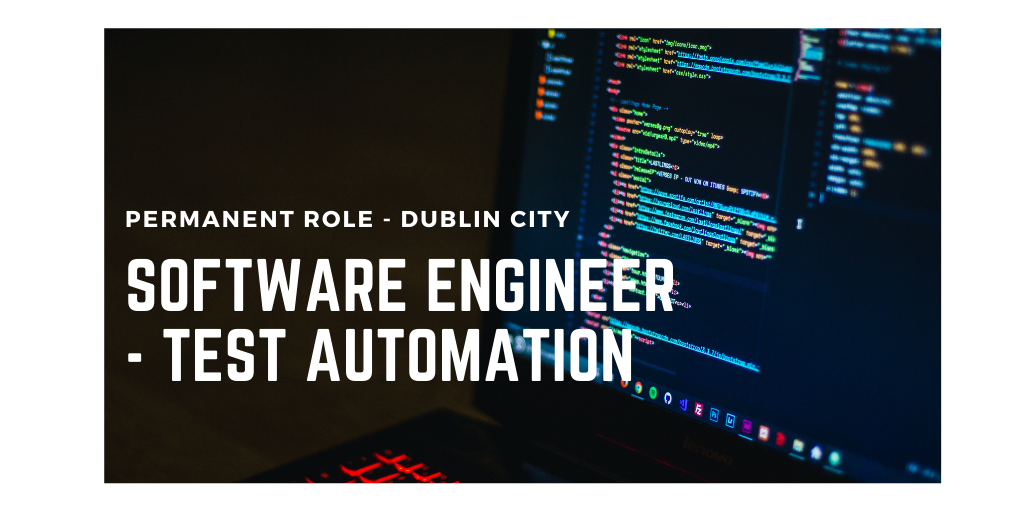Software Engineer – Test Automation