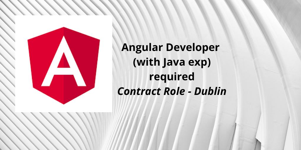 Java / Angular Developer