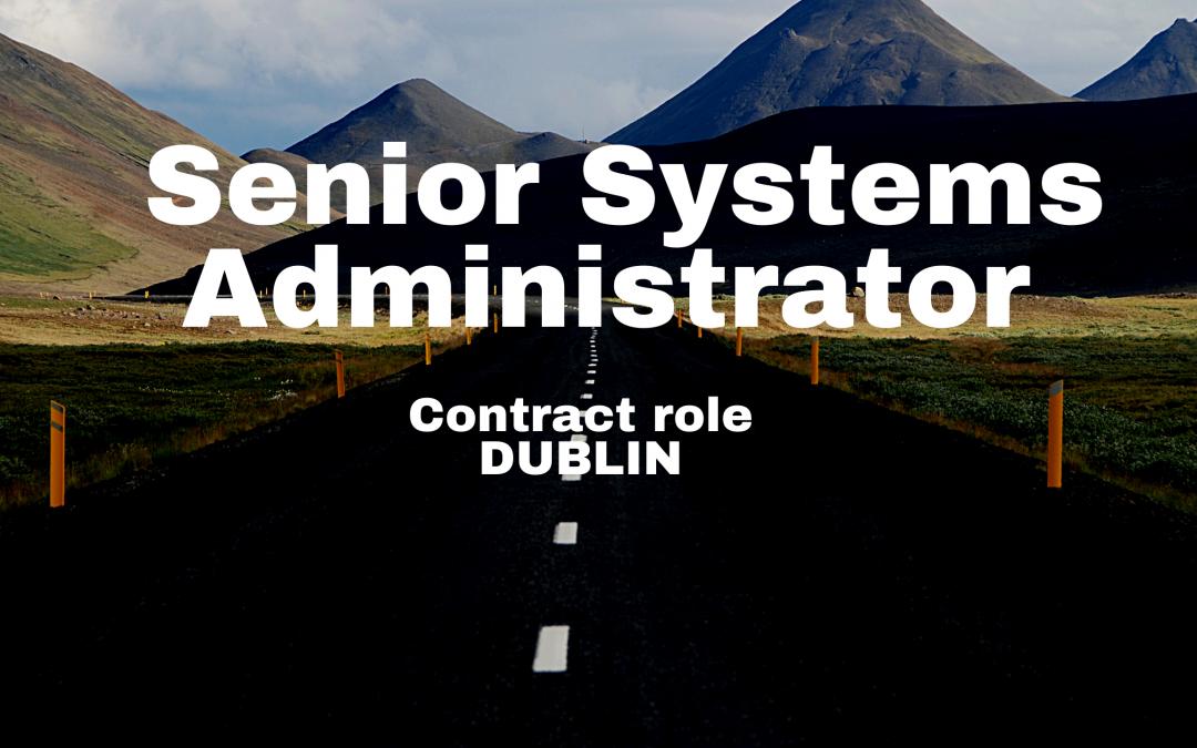 Senior Systems Administrator