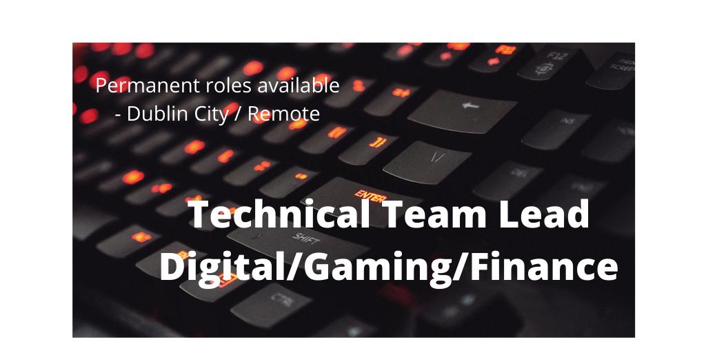 Technical Team Lead